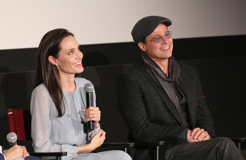 Angelina Jolie et Brad Pitt réunis pour la projection de By The Sea (Photos)