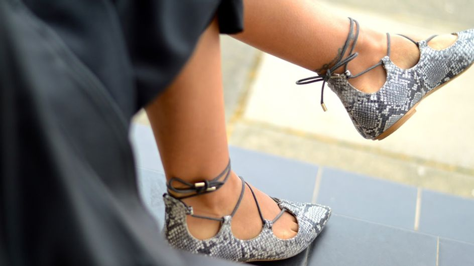 Lace up shoes: la nueva tendencia que pisa con fuerza
