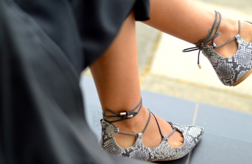 Lace up shoes: la nueva tendencia que pisa con fuerza