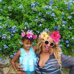 Béyoncé et Blue Ivy