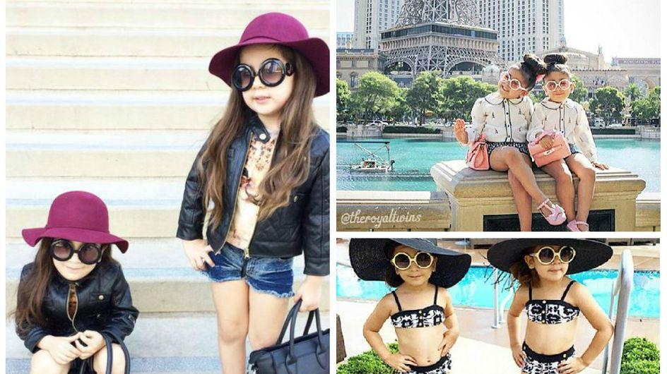 Bella et Chloé, deux modeuses de 4 ans font le buzz sur Instagram