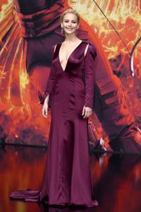 Jennifer Lawrence à Berlin pour l'avant-première du dernier volet Hunger Games