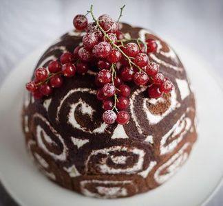 Pudding navideño