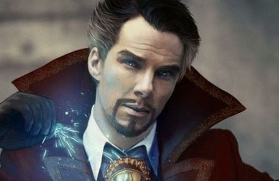 Doctor Strange: First Images Show Benedict Cumberbatch Looking Seriously Scruffy