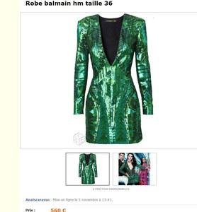 Balmain pour H&M : L'arnaque a déjà commencé sur les sites de revente