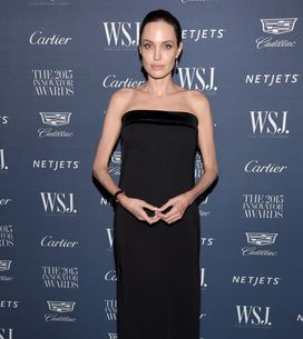 Angelina Jolie pose sans maquillage en Une du WSJ (Photo)