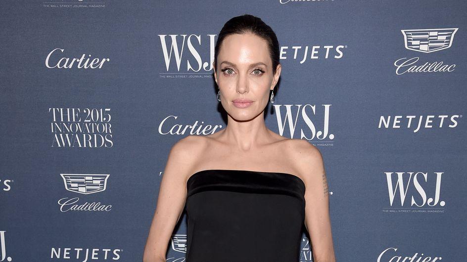 Angelina Jolie pose sans maquillage en Une du WSJ (Photo)