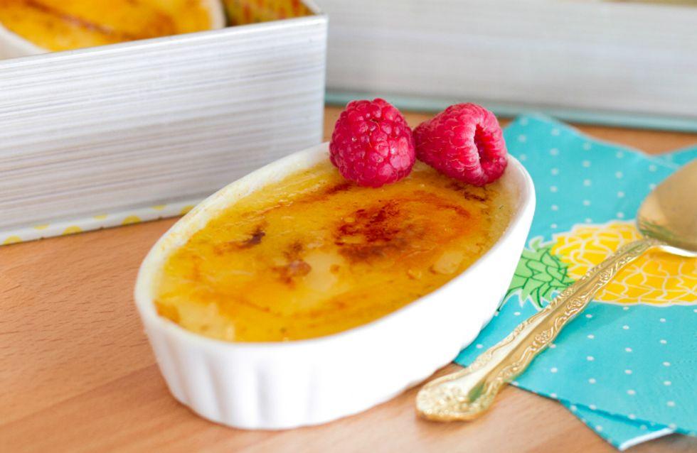 Aprenda a fazer um crème brulée impecável com a chef Raiza Costa