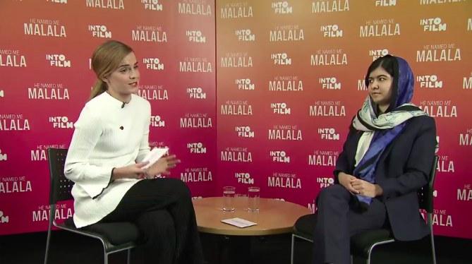 Emma Watson et Malala Yousafzai