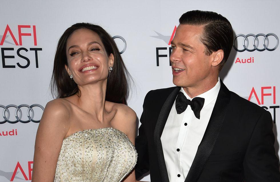 Angelina jolie et Brad Pitt, complices et glamour sur le red carpet (Photos)