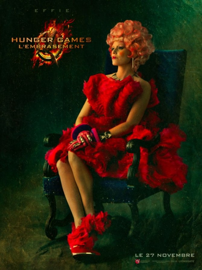 Effie de Hunger Games