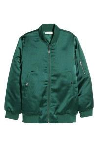Bomber verde imbottito H&M