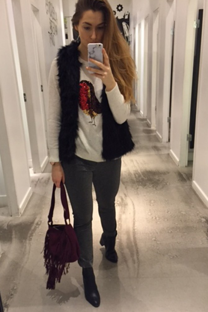 h&m christmas shopping