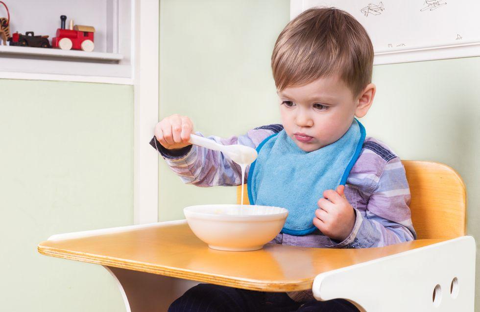 Que faire face à un petit mangeur ?