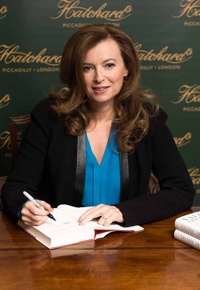 Valérie Trierweiller.