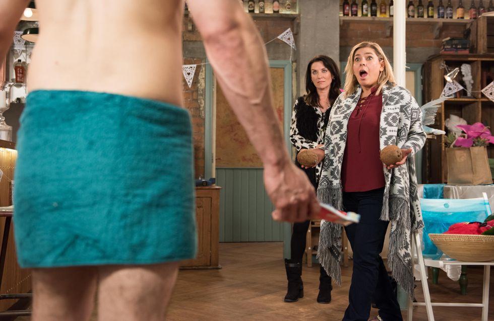 Hollyoaks 16/11 - Joe is banging on the McQueen's front door