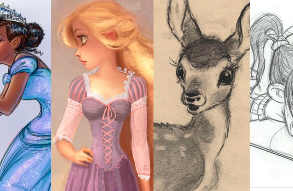 Do conceito à arte final dos filmes da Disney