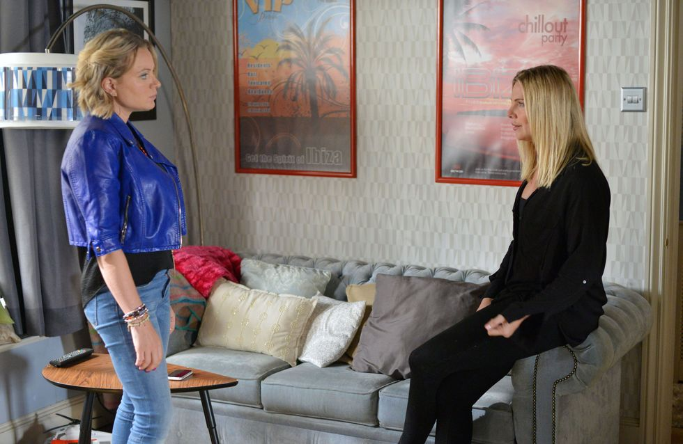 Eastenders 20/11 - The Mitchell sisters reach breaking point