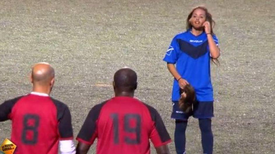 Fußball ist Männersache?! Diese Frau geht undercover, um mit Vorurteilen aufzuräumen
