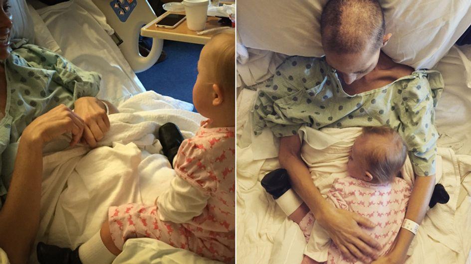 Herzzerreißend: Hier nimmt eine todkranke Mutter Abschied von ihrer Tochter