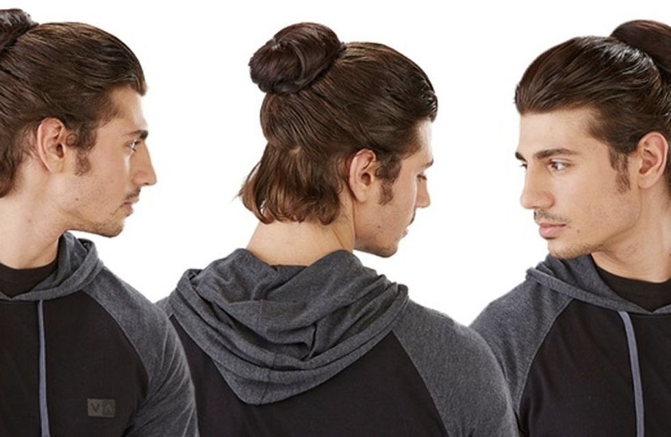 Clip-On Man Buns Are Now A Thing And Its Just Plain Wrong