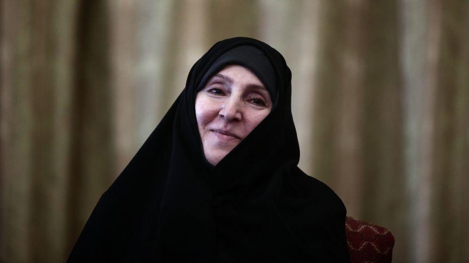 Marzieh Afkham, première femme ambassadrice d'Iran