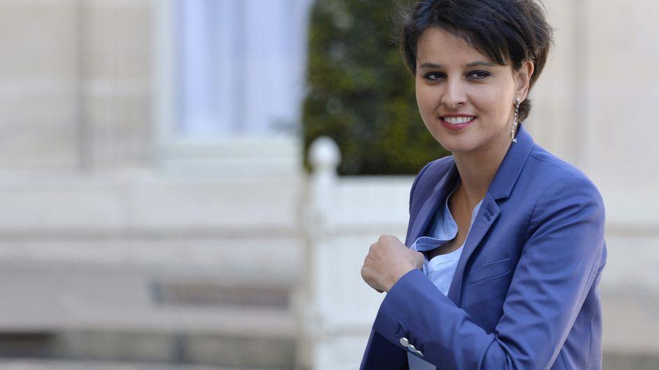 """La brillante réponse de Najat Vallaud-Belkacem à la chronique sur son """"soutif"""""""
