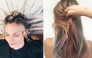 Si chiama Fluid hair painting e ti farà LETTERALMENTE girare la testa