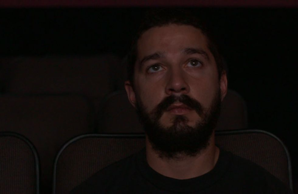 Shia LaBeouf Is Live Streaming Himself While Watching All Of His Movies And We Are Obsessed