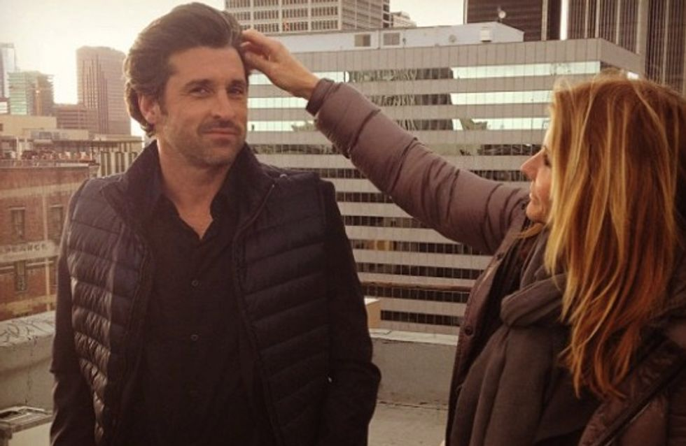 Patrick Dempsey en week-end amoureux à Paris (Photos)