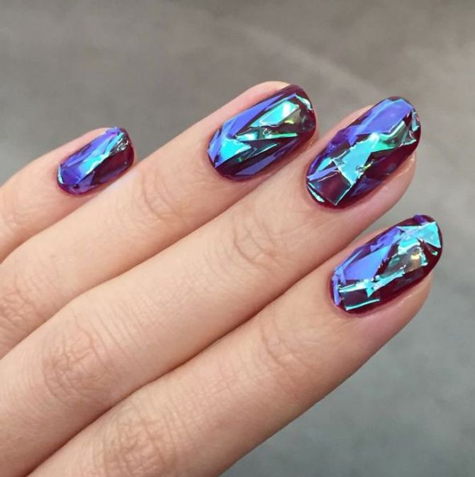 Glass-Nails: Funkeln wie Diamanten