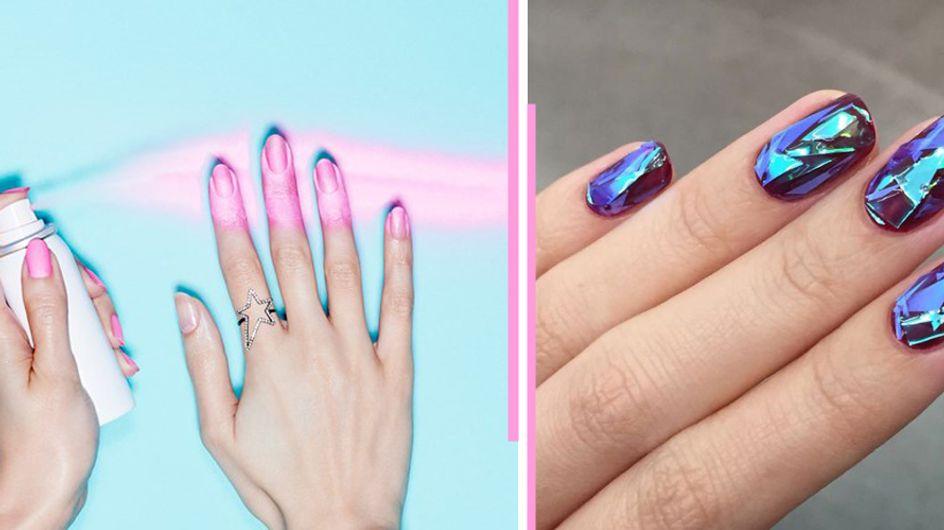 Glass-Nails & Nagellack zum Aufsprühen: In diese neuen Nailart-Trends sind wir verliebt