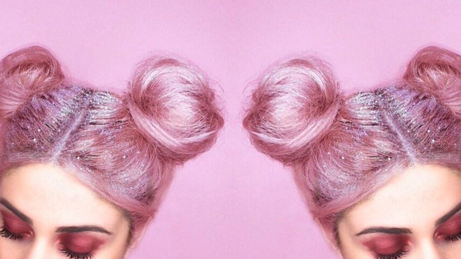 Glitter Roots Are A Thing Now And Everyone On Instagram Is Doing It