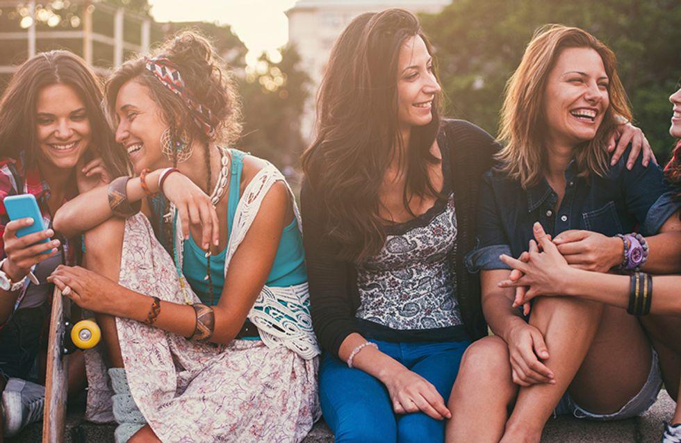 12 tipos de amigas que toda garota precisa ter