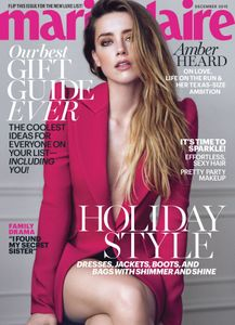 Amber Heard pour Marie Claire