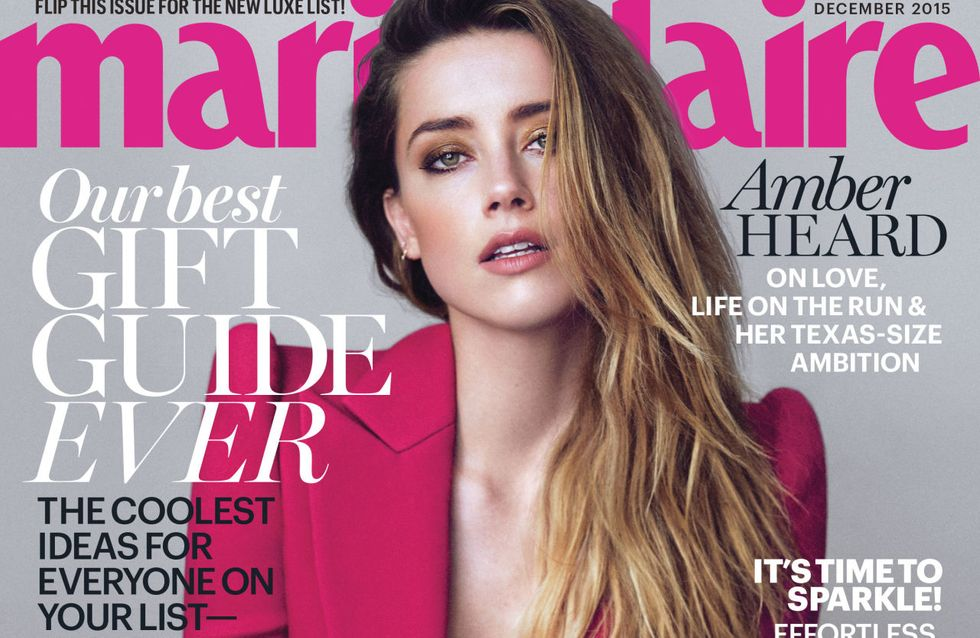 Amber Heard ultra sexy pour Marie Claire (Photos)