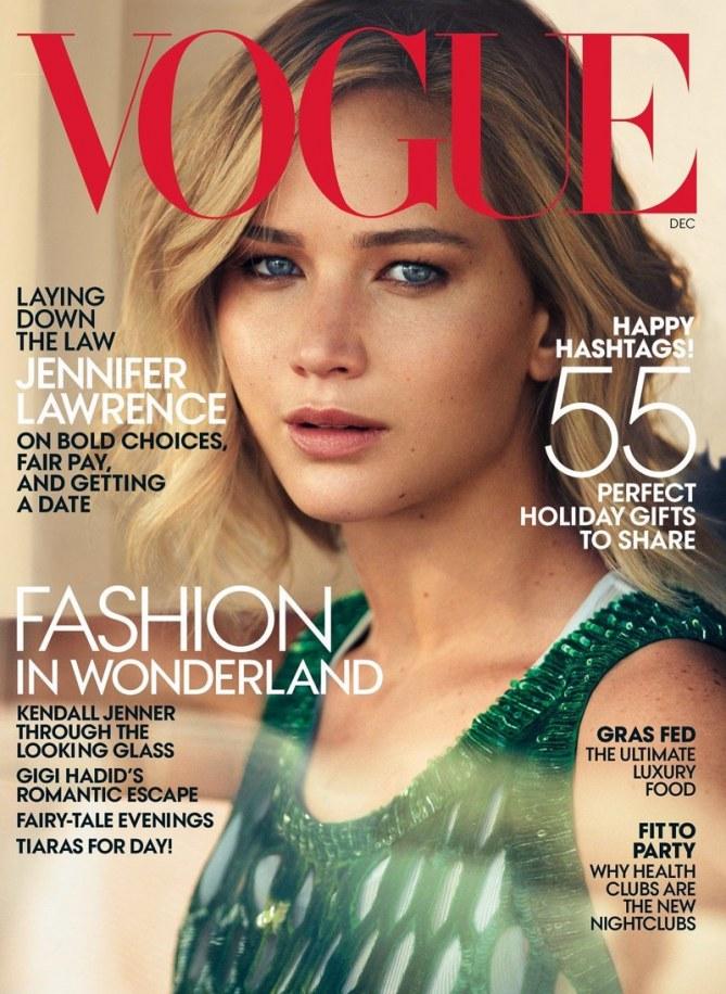 Jennifer Lawrence pour Vogue