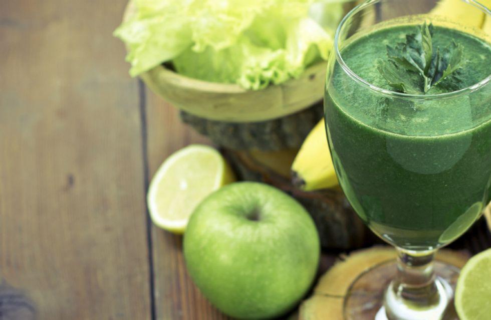 Os benefícios de 11 possíveis ingredientes para um suco verde