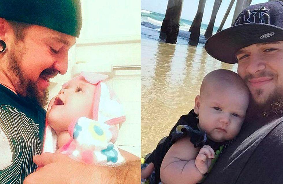 Pai compartilha luta para cuidar da filha e a história viraliza nas mídias sociais