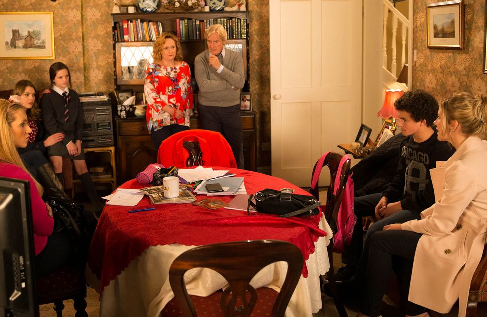 Coronation Street 23/11 - Simon reaches breaking point