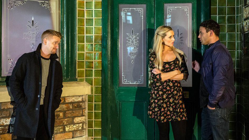 Coronation Street 26/11 - Jason feels Eva's wrath