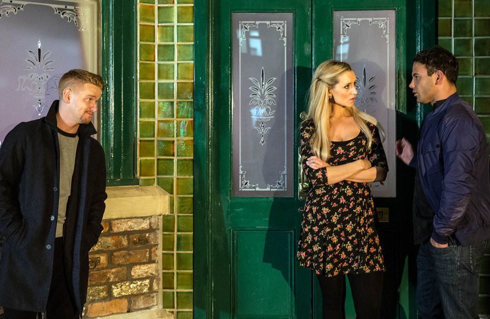 Coronation Street 26/11 - Jason feels Eva's wrath