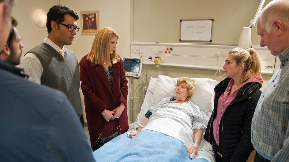 Emmerdale 27/11 - The village are in shock over what has happened to Diane