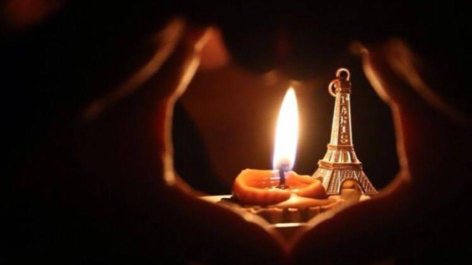 Attentats de Paris : Des fleurs et des bougies contre la barbarie