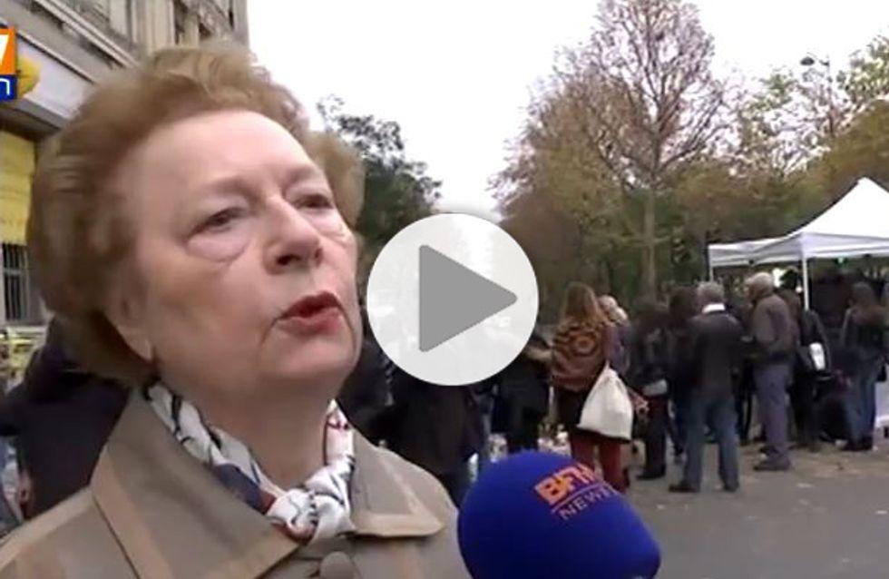 L'inspirant message de paix d'une femme après les attentats à Paris (Vidéo)
