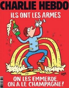 La Une de Charlie Hebdo.