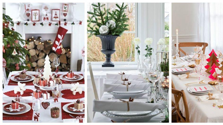 Ces idées de déco de table qui nous inspirent pour Noël (Photos)