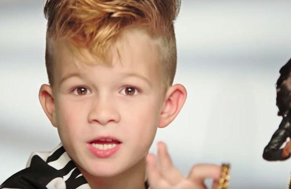 The First Boy Ever To Appear In A Barbie Advert Is Our New Hero