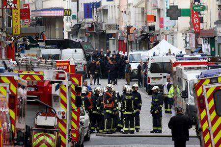 L'assaut à Saint Denis