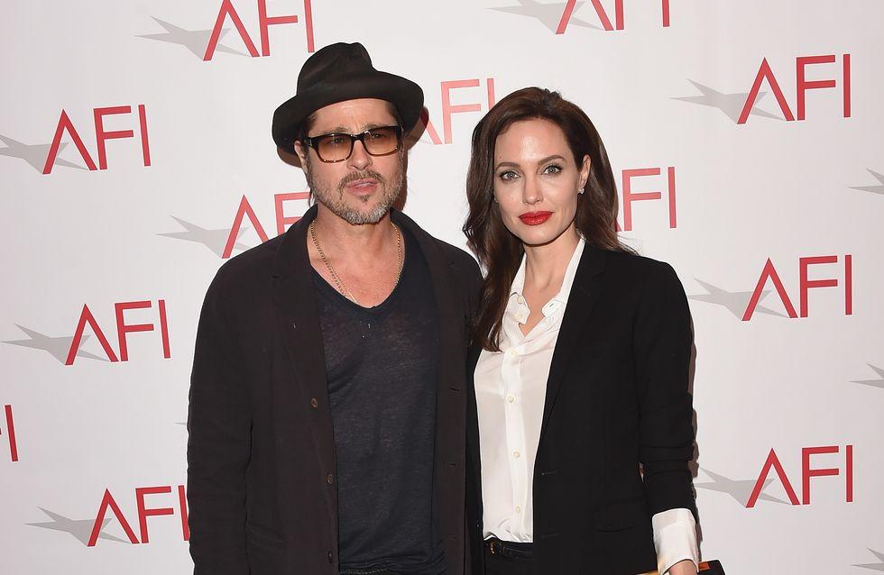 Brad Pitt et Angelina Jolie, tendres amoureux pour Vanity Fair (Photo)